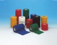 CO-FLEX-Binden 7,5 cm breit, rot