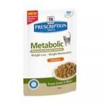 Hills Feline Metabolic Frischebeutel mit Huhn