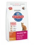 Hills Science Plan Feline Adult Sensitive Skin Chicken