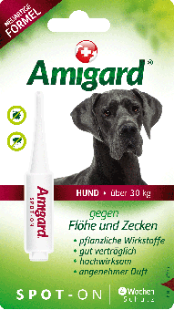 Amigard Spot-on Hunde über 30 kg - 1 x 6ml