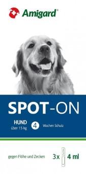 Amigard Spot-on 3er Packung Hunde über 15 kg - 3 x 4ml