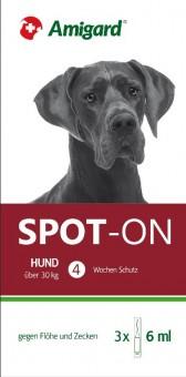 Amigard Spot-on 3er Packung Hunde über 30 kg - 3 x 6ml