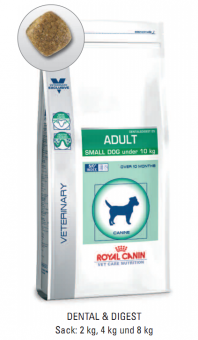 Royal Canin Vet Care Nutrition Adult Small Dog 2 kg