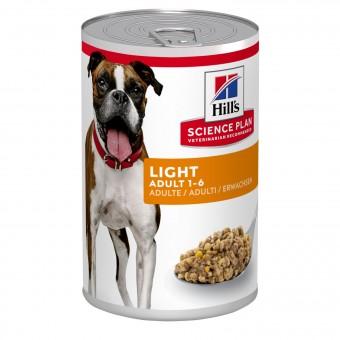 Hills Science Plan Canine Adult Light Dosenfutter