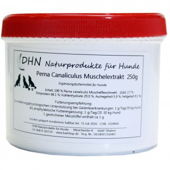 DHN® Grünlipp Muschelextrakt 250 g