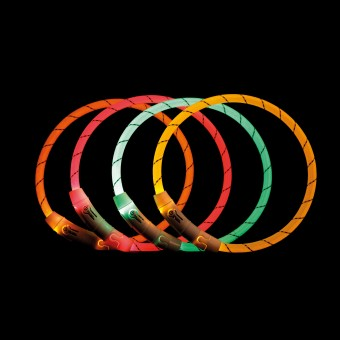 USB Flash Leuchtring - orange