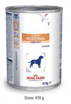 Royal Canin Gastro Intestinal Low Fat 12 Dosen je 410g