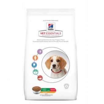 Hills VetEssentials Puppy Medium Huhn