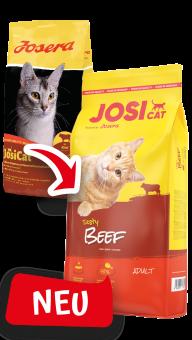 JosiCat Tasty Beef (vorher Josera JosiCat)