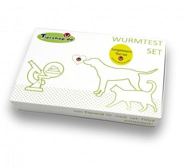 Lungenwurm Test-Set Katze - Kotuntersuchung