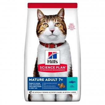 Hills Science Plan Katze Mature Adult 7+ Thunfisch