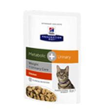 Hills Feline Metabolic + Urinary Frischebeutel