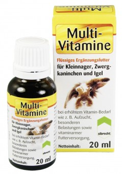 Multi-Vitamine für Kleinnager