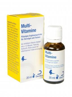 Multi-Vitamine für Ziervögel