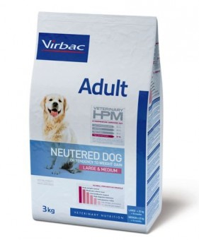 Virbac Veterinary HPM Adult Neutered Dog Large & Medium