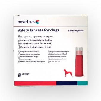 Covetrus - VetMate Sicherheitslanzetten Hunde