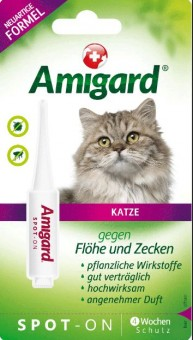 Amigard Spot-on Katze - 1 x 1,5ml