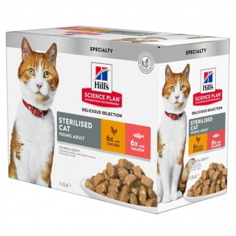 Hills Science Plan Sterilised Cat Young Adult Katzenfutter
