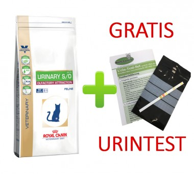 Royal Canin Urinary S/O Olfactory Attraction Fisch + Urintest
