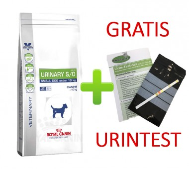 Royal Canin Urinary S/O Small Dog + Urintest