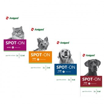 Amigard Spot-on 3er Packung