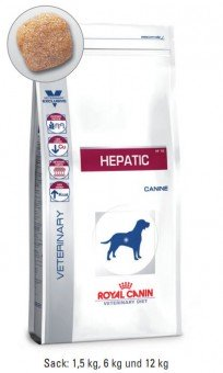 Royal Canin Hepatic 12 kg (Hund)