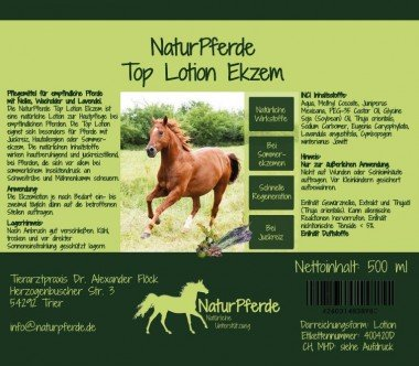 NaturPferde Top Lotion Ekzem