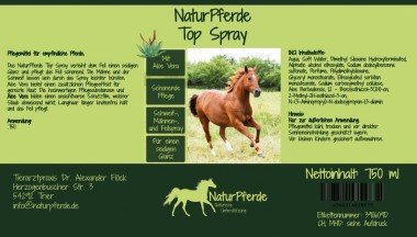 NaturPferde Top Spray