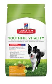 Hills Science Plan Canine Adult 7+ Youthful Vitality Medium mit Huhn und Reis