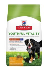 Hills Science Plan Canine Adult 5+ Youthful Vitality Large Breed mit Huhn und Reis