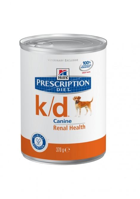 Hills Canine k/d Dosenfutter 12 x 370 g (Hund)