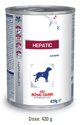 Royal Canin Hepatic 12 Dosen je 420g