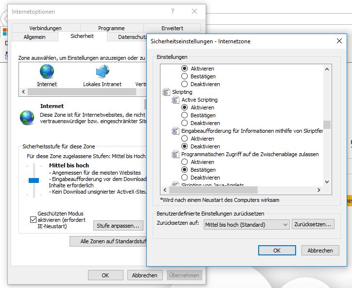 Javascript in Firefox aktivieren