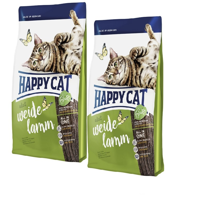Happy Cat Supreme Fit&Well Adult Weide-Lamm