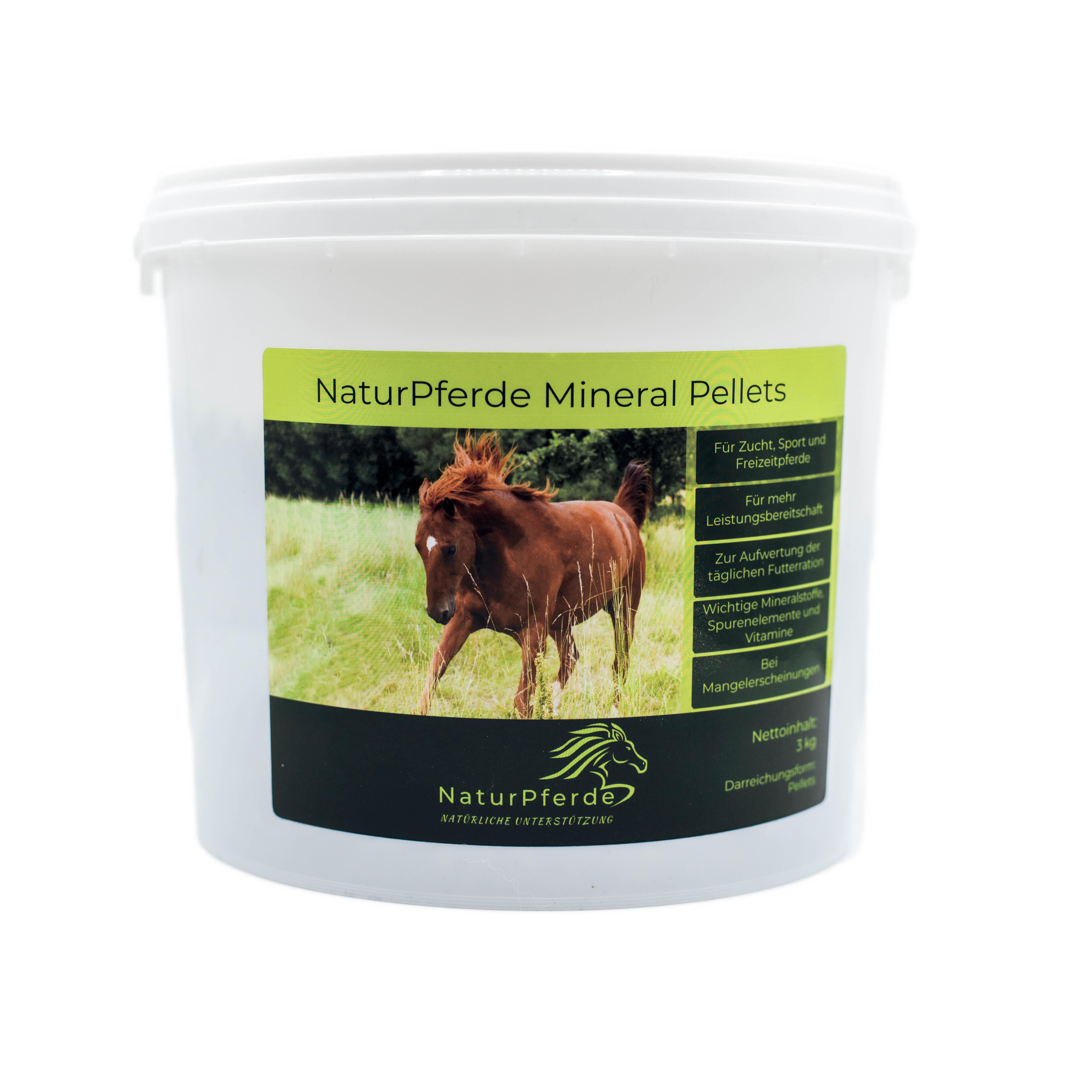 NaturPferde Mineral Pellets