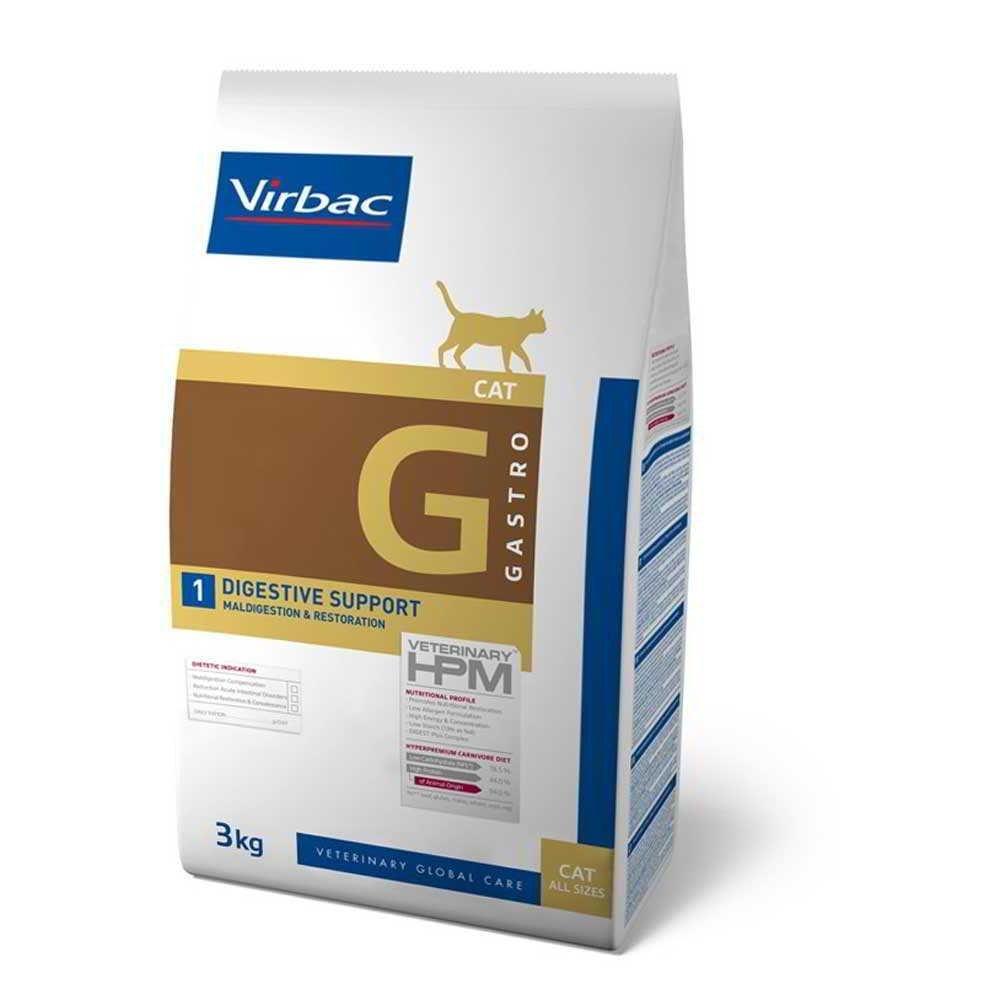 Virbac Veterinary HPM Cat Gastro 1 1,5 kg