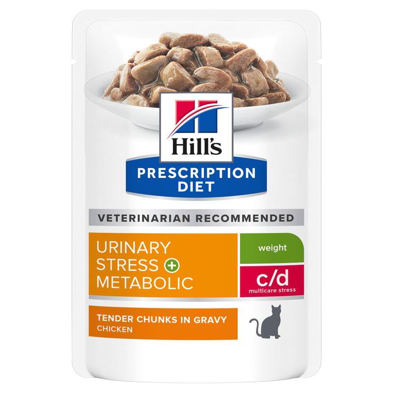 Hills Feline c/d Urinary Stress + Metabolic Frischebeutel
