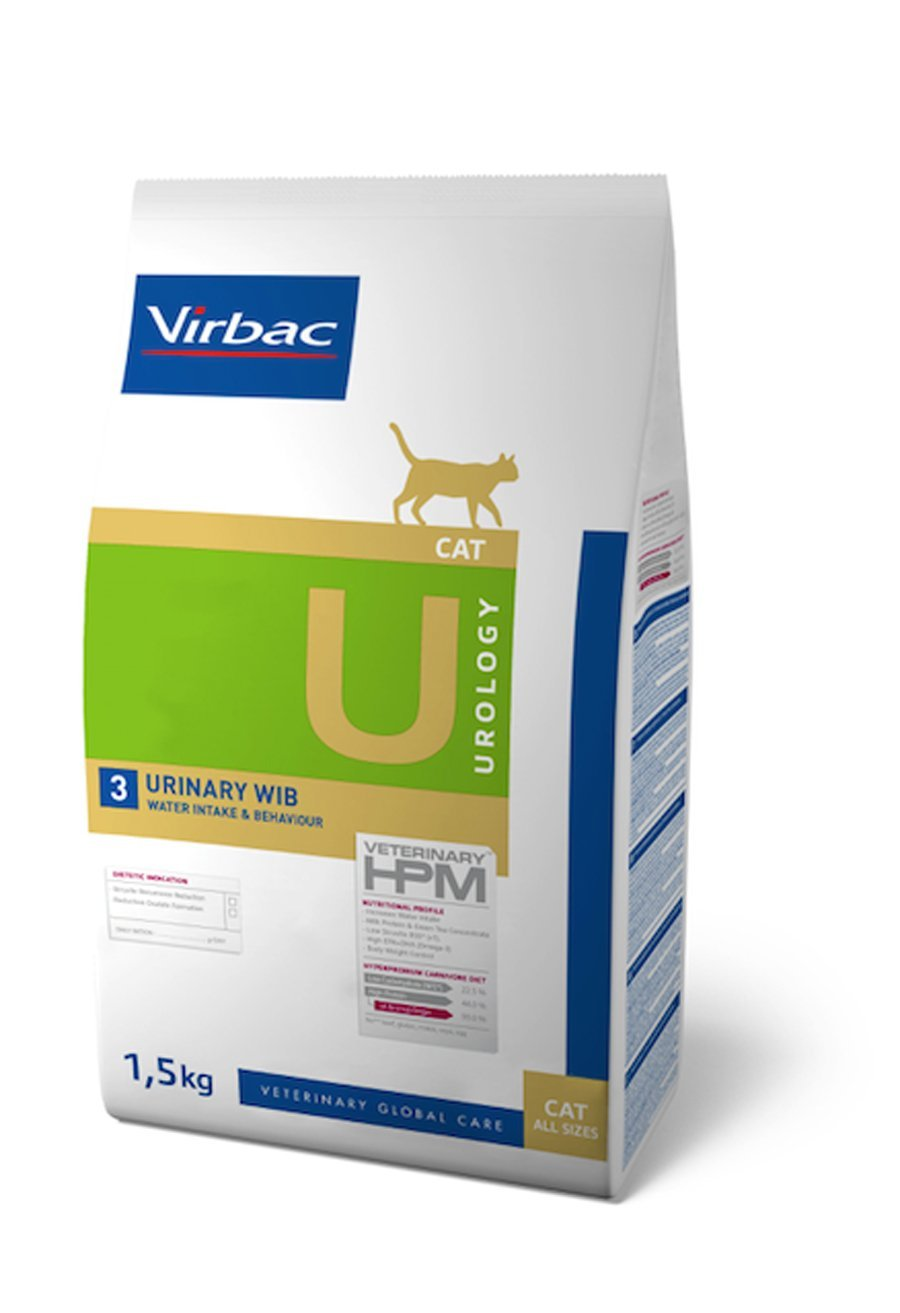 Virbac Veterinary HPM Cat Urology 3 1,5 kg