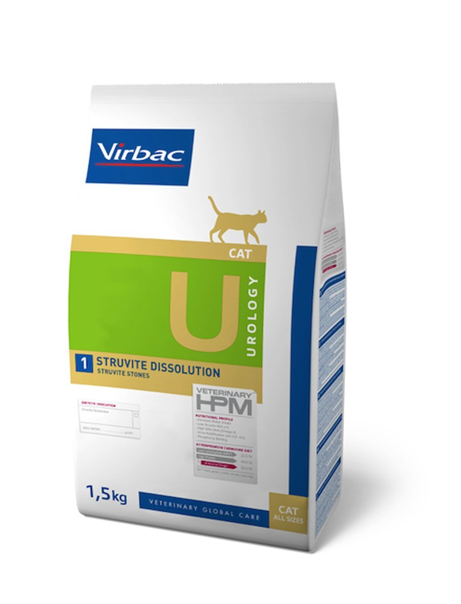 Virbac Veterinary HPM Cat Urology 1 1,5 kg