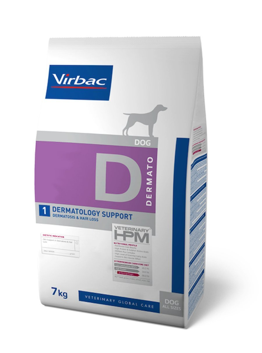 Virbac Veterinary HPM Dog Dermatology 1 7 kg