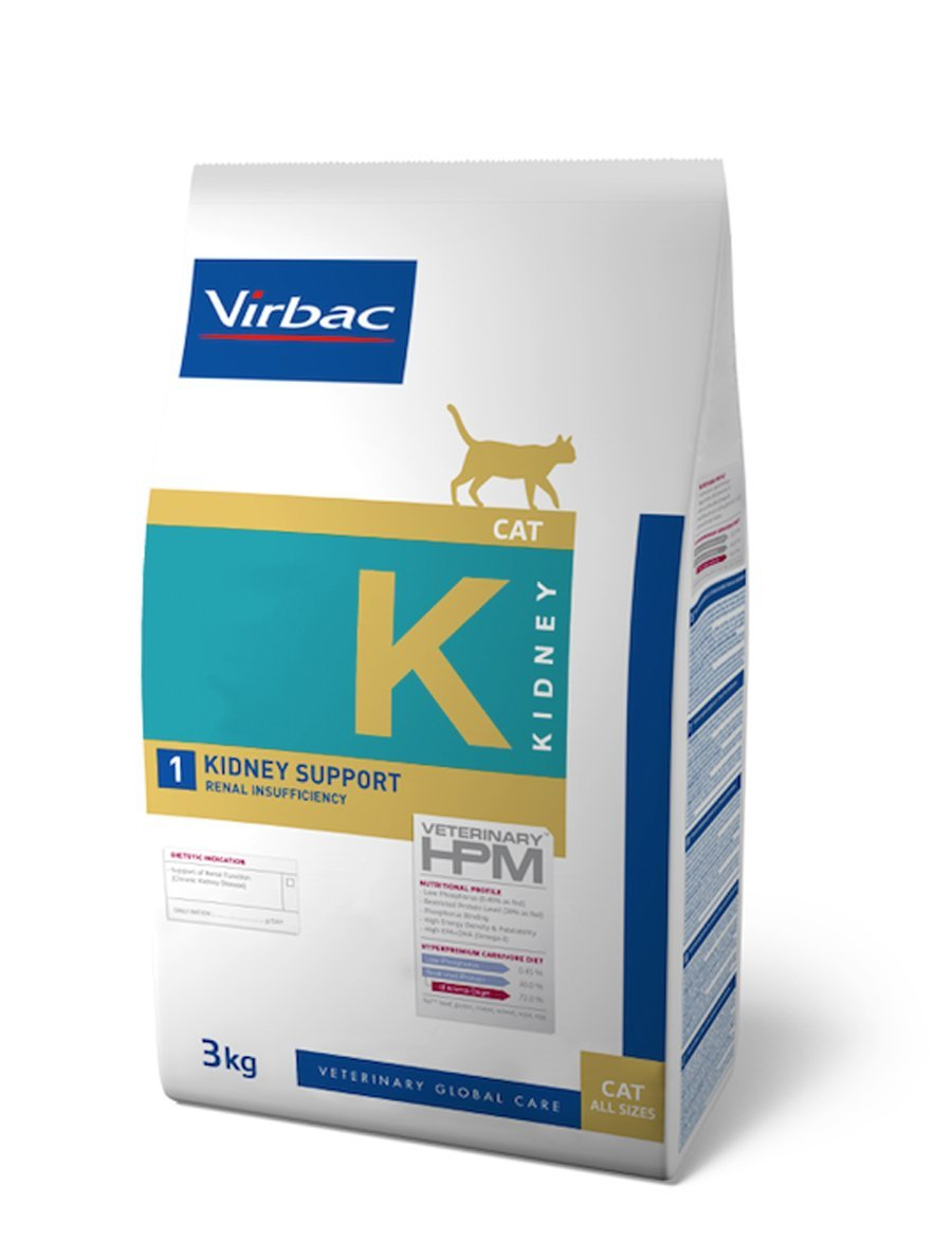 Virbac Veterinary HPM Cat Kidney 1 1,5 kg