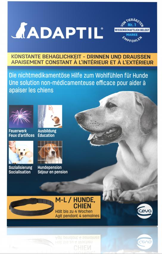 Adaptil Halsband 1 x Adaptil Halsband für Mittelgroße und Große Hunde