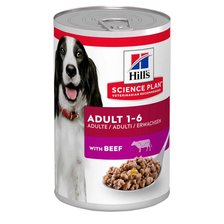 Hills Science Plan Canine Adult Dosenfutter Rind
