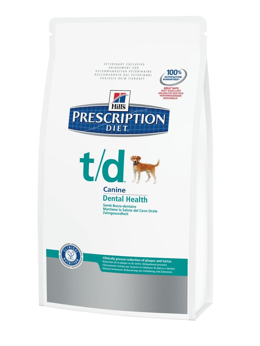 Hills Canine t/d 3 kg (Trockenfutter)