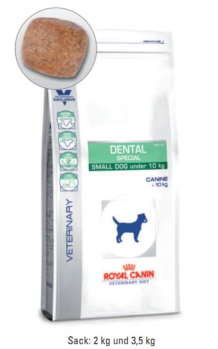 Royal Canin Dental Special small dog 2 kg