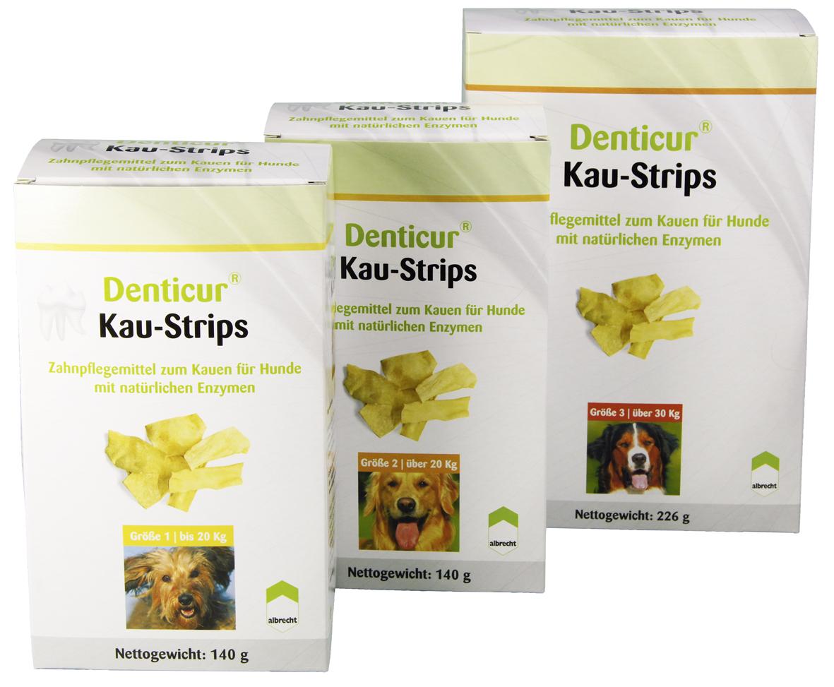 Denticur Kau-Strips Nr. 2 140g - Gr. 2 für Hunde über 20 kg