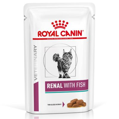 Royal Canin Renal with Fish 12 x 85 g (Frischebeutel)