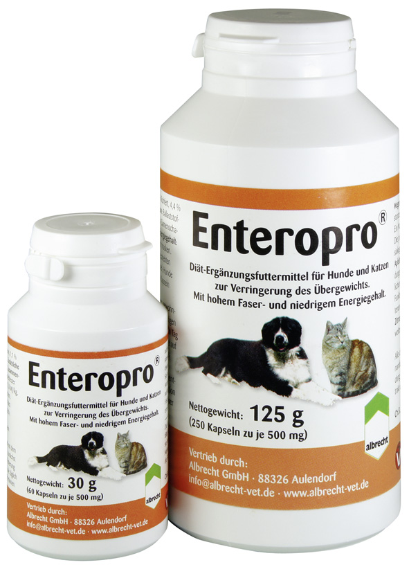 Enteropro Wegerich-Samen 250 Kapseln