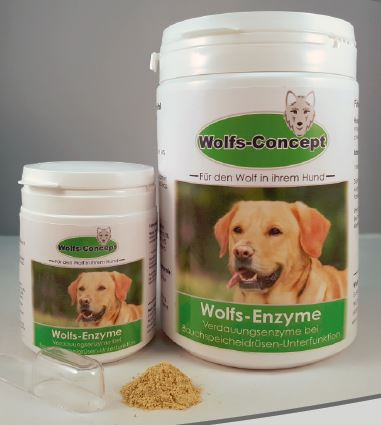 Wolfs-Enzyme 500 g Dose 500 g