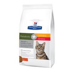 Hills Feline Metabolic + Urinary Stress 4 kg (Trockenfutter)